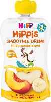 Quetschbeutel Hippis Smoothie Drink Pfirsich-Banane in Apfel ab 1 Jahr
