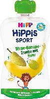 Quetschbeutel Hippis Sport Birne-Banane-Traube mit Hafer ab 1 Jahr