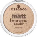 essence cosmetics Bronzer sun club matt bronzing powder sunkissed 01
