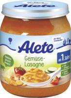Alete Kindermenü Gemüse-Lasagne ab 1 Jahr