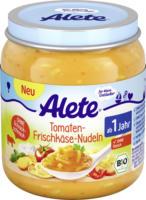 Alete Kindermenü Tomaten-Frischkäse-Nudeln ab 1 Jahr