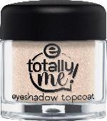 essence cosmetics Lidschattenbasis totally me! eyeshadow topcoat gold 01