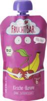 FruchtBar Quetschbeutel KiBa Beat Kirsche, Banane ab 6 Monaten