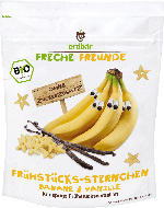 erdbär Freche Freunde Müsli Frühstücks-Sternchen Banane & Vanille ab 1 Jahr