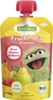 Sesamstraße Quetschbeutel Frucht-Mix Birne Banane Erdbeere ab 12. Monat