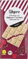 Veganz Schokolade Himbeer-Thymian