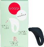 MOQQA Tide Penisring mit Vibration, schwarz