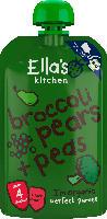 Ella's Kitchen Quetschbeutel broccoli pears + peas nach dem 4. Monat