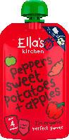 Ella's Kitchen Quetschbeutel peppers sweet potatoes + apples nach dem 4. Monat