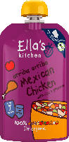 Ella's Kitchen Quetschbeutel Mexican Chicken with rice + peppers ab 7 Monaten