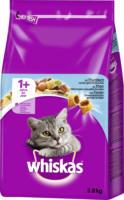 Whiskas Trockenfutter für Katzen, Adult 1+, Thunfisch