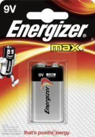 Energizer Batterie Max 9Volt Alkali-Mangan