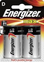 Energizer Batterien Max Mono D Alkali-Mangan