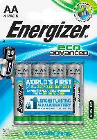 Energizer Batterien Eco Advanced Mignon AA Alkali-Mangan