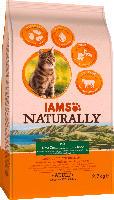IAMS Trockenfutter für Katzen, Naturally, Adult, Lamm