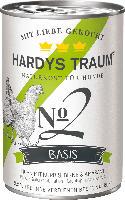 Hardys Traum Nassfutter für Hunde, Basis No. 2 Huhn