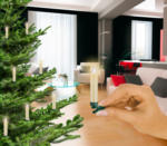 Krinner Christbaumkerzen LED Lumix Classic Mini Erweiterung 6er Set