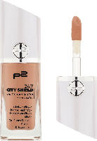 p2 cosmetics Make-up 24/7 city shield matte foundation + concealer honey 040
