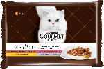 GOURMET à la carte Nassfutter für Katzen, A la Carte, Raffinessen, 4x85g