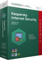 Kaspersky Internet Security 2017 1User Antiviren-Software Virenschutz NEU OVP