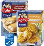 Iglo Filegro Ofenbackfisch 240 g oder Chrunch`n Fisch* * * 250 g, gefroren, jede Packung und weitere Sorten