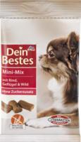 Dein Bestes Snack für Hunde, Mini-Mix mit Rind, Geflügel & Wild