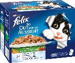 Felix Nassfutter für Katzen, So gut wie es aussieht, Gemüse in Gelee, Multipack 12x100g