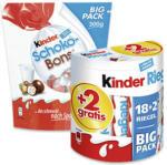 Duplo, Kinderriegel 18er + 2 gratis oder Kinder Schoko Bons 300 g, jede 364/420/300-g-Packung