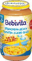Bebivita Kindermenü Sternchennudeln in Tomaten-Kürbis-Sauce ab 12. Monat
