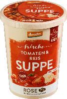 """Frische Suppe """"Tomaten-Reis"""""""