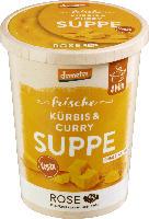 """Frische Suppe """"Kürbis-Curry"""""""