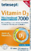 tetesept Vitamin D 7.000 Wochendepot Tabletten