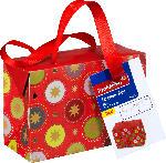 Profissimo Geschenktüte Box Weihnachten mini gold mit Sternen