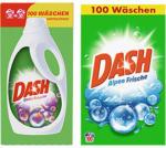 Dash Waschmittel 100 Waschladungen, versch. Sorten, jede Packung