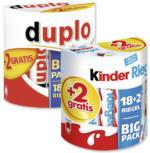 Duplo oder Kinderriegel  18er + 2 jede 364/420-g-Packung