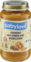 babylove Menü Limited Edition Couscous mit Gemüse und Hackfleisch ab 8. Monat