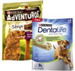 Dentalife oder Adventuros  Hunde-Snack versch. Sorten, jede 90/142-g-Packung
