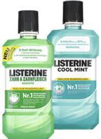 Listerine Coolmint, Zahn & Zahnfleisch oder Zahnsteinschutz jede 500-ml-Flasche