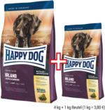 HAPPY DOG Supreme Sensible 4 kg + 1 kg gratis
