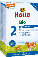 Holle baby food Bio Folgemilch 2 nach dem 6.Monat