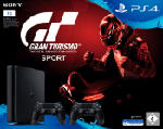 PlayStation 4 Konsolen - SONY PlayStation 4  Slim 1TB inkl. Gran Turismo Sport + DUALSHOCK®4 Wireless Controller