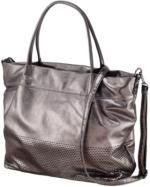 Damen-Tasche im Metallic-Look