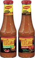 Maggi Texicana Salsa versch. Sorten, jede 500-ml-Flasche