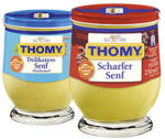Thomy Delikatess Senf oder Scharfer Senf jedes 250-ml-Glas