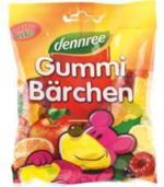 Dennree Gummi-Bärchen mit Bio-Gelatine 100g Packung