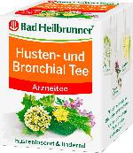 Bad Heilbrunner Husten- und Bronchial Tee, 8 x 2 g
