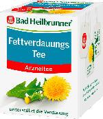 Bad Heilbrunner Fettverdauungs Tee, 8 x 1,8 g