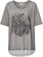 Damen T-Shirt mit Oil-Washed-Look