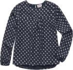 Mädchen Bluse mit Schwanen-Print