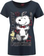 Snoopy T-Shirt mit Glitzer